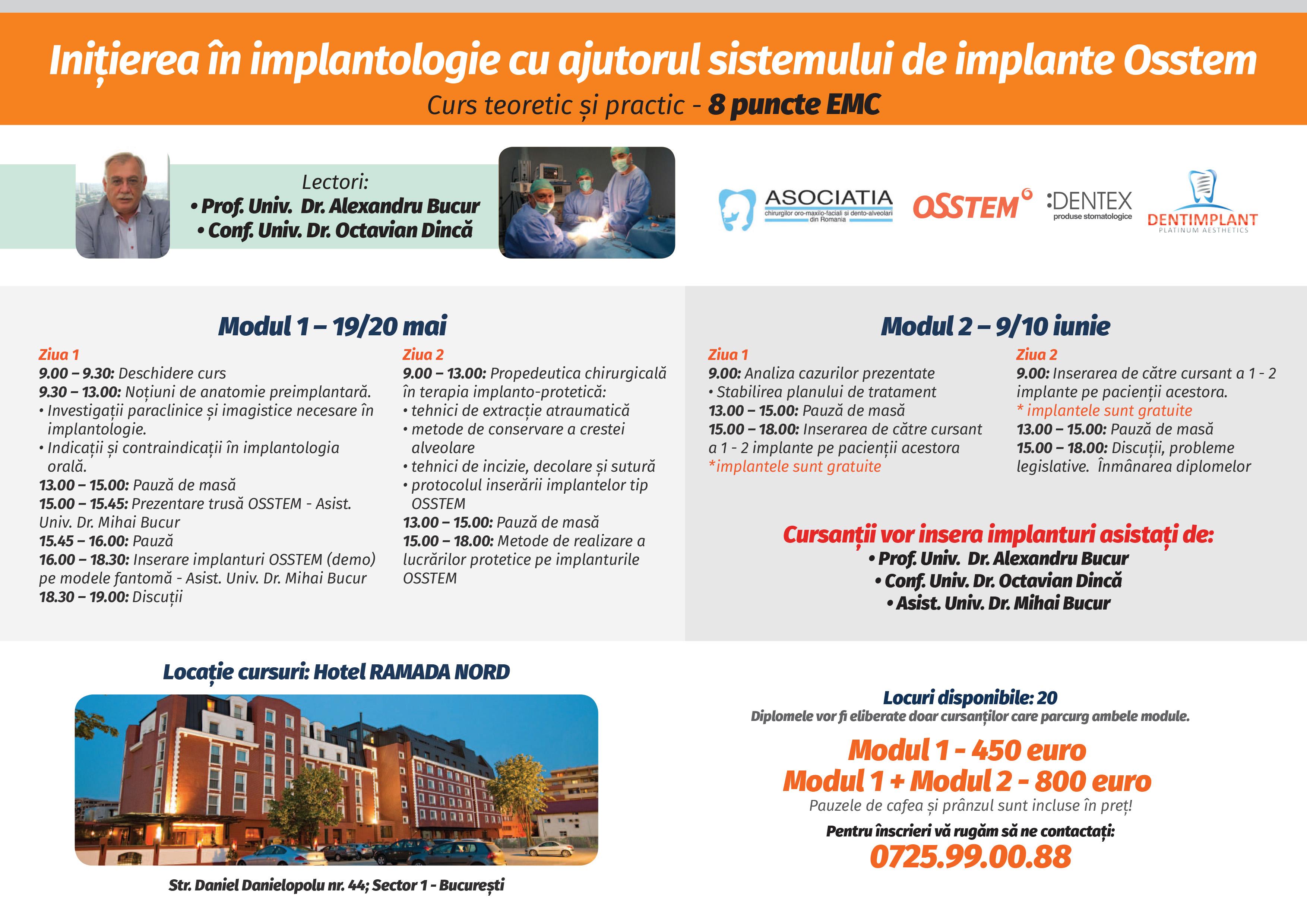 initierea in implantologie
